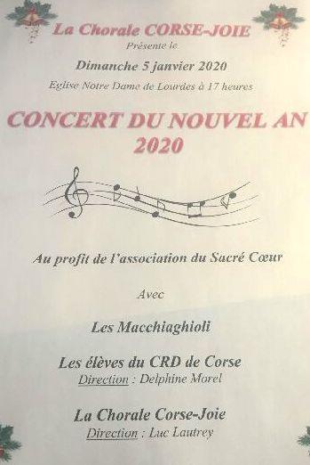 Bastia : un concert pour la bonne cause