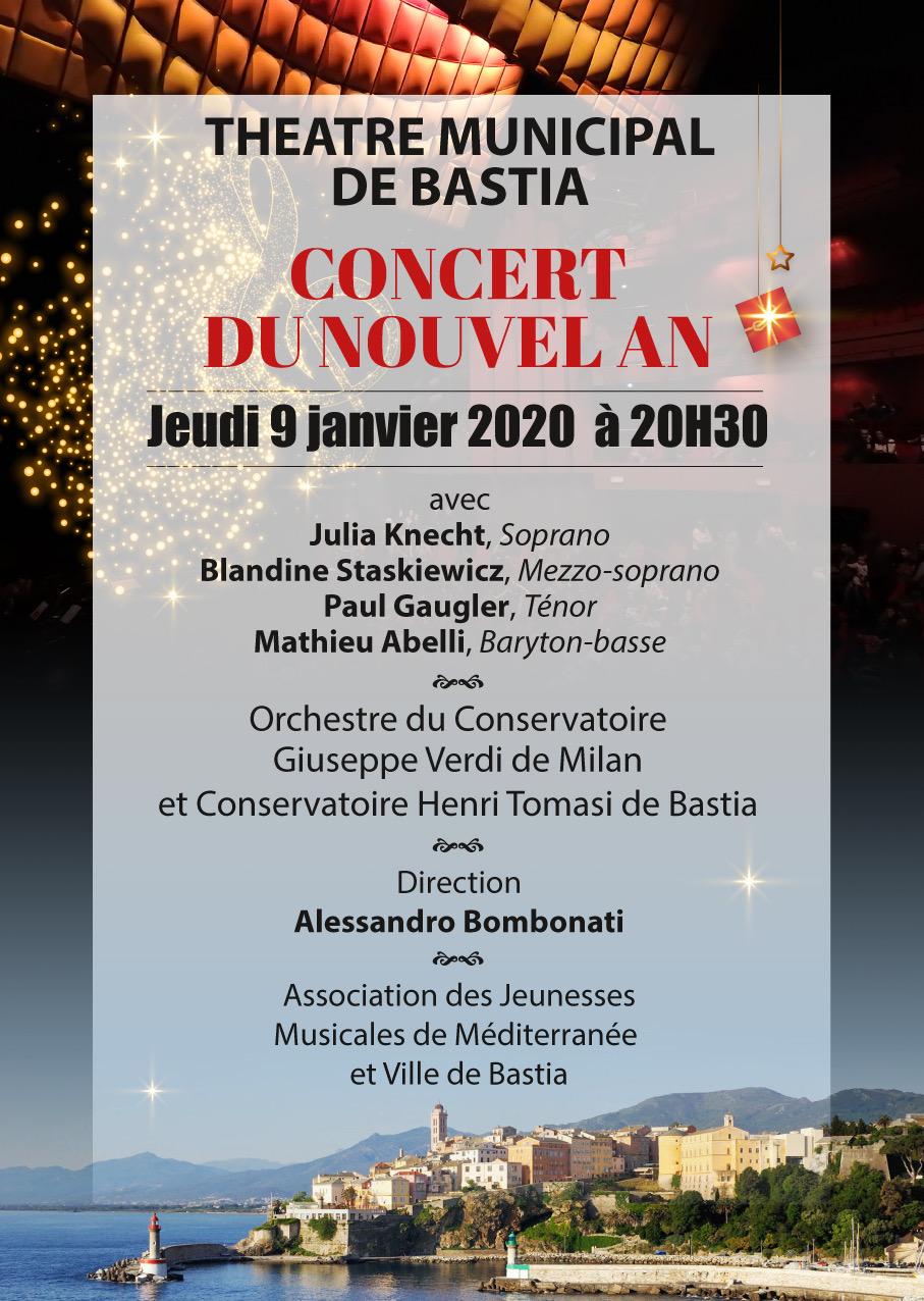 Bastia : un air d'Italie pour le premier concert du Nouvel An