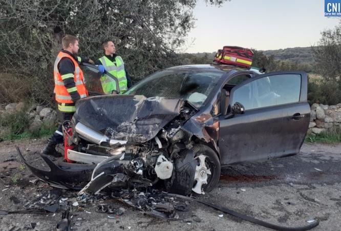 Spectaculaire accident à Ochjatana : 3 blessés légers