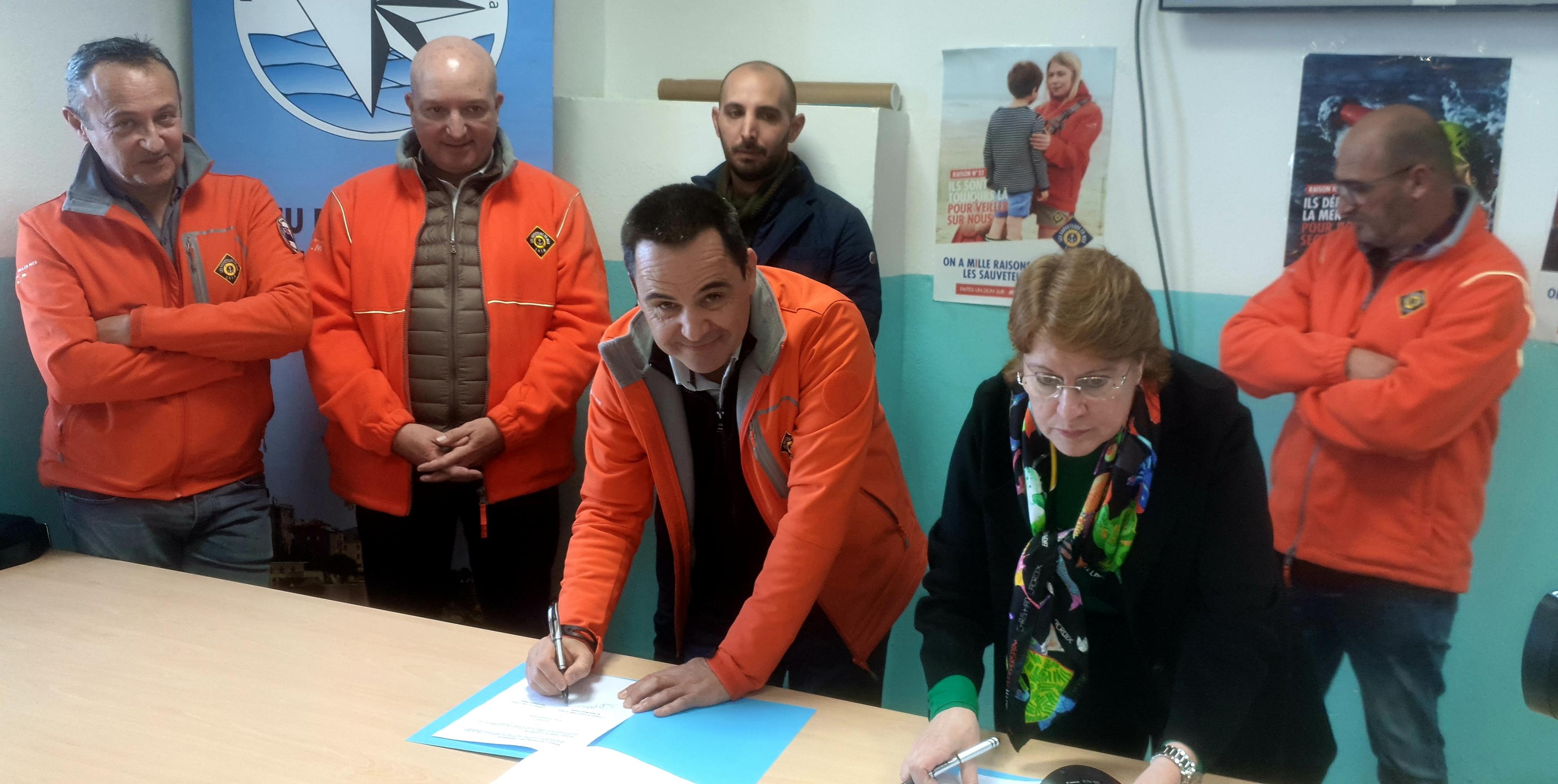 Le lycée maritime de Bastia et la SNSM signent un nouveau partenariat