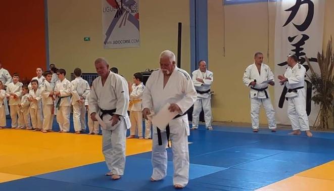 Ceinture noire et reconnaissance de la Fédération Française de Judo pour Jean-Pierre Gasque