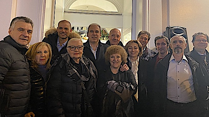 Jean Zuccarelli inaugure sa permanence à Bastia.