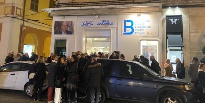 VIDEO - Municipales 2020 à Bastia : Jean Zuccarelli inaugure sa permanence