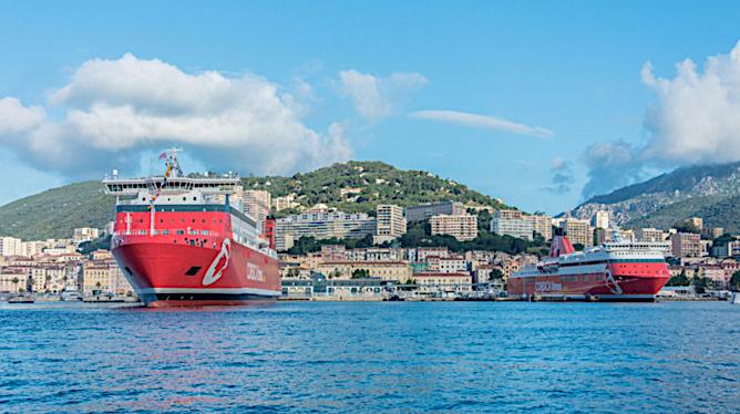Corsica Linea : trafic interrompu jusqu'au 17 Janvier