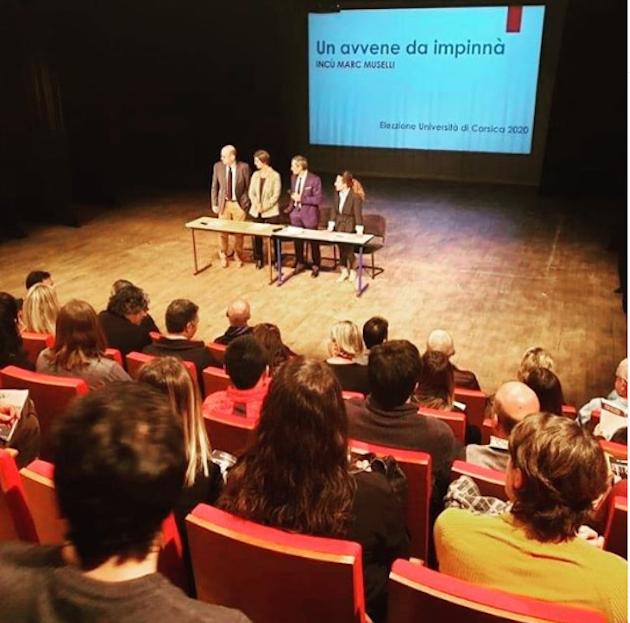 Elections à l'Università di Corsica - Muselli: «Un avvene da  impinnà»