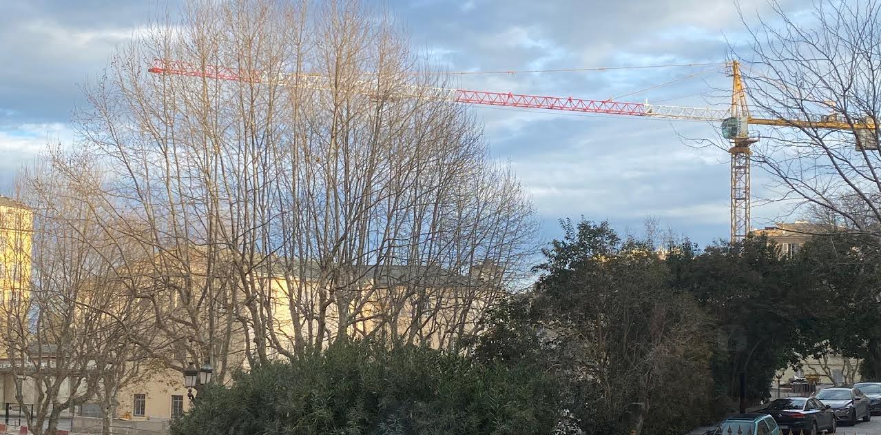 Bastia : le boulevard Auguste-Gaudin fermé à la circulation