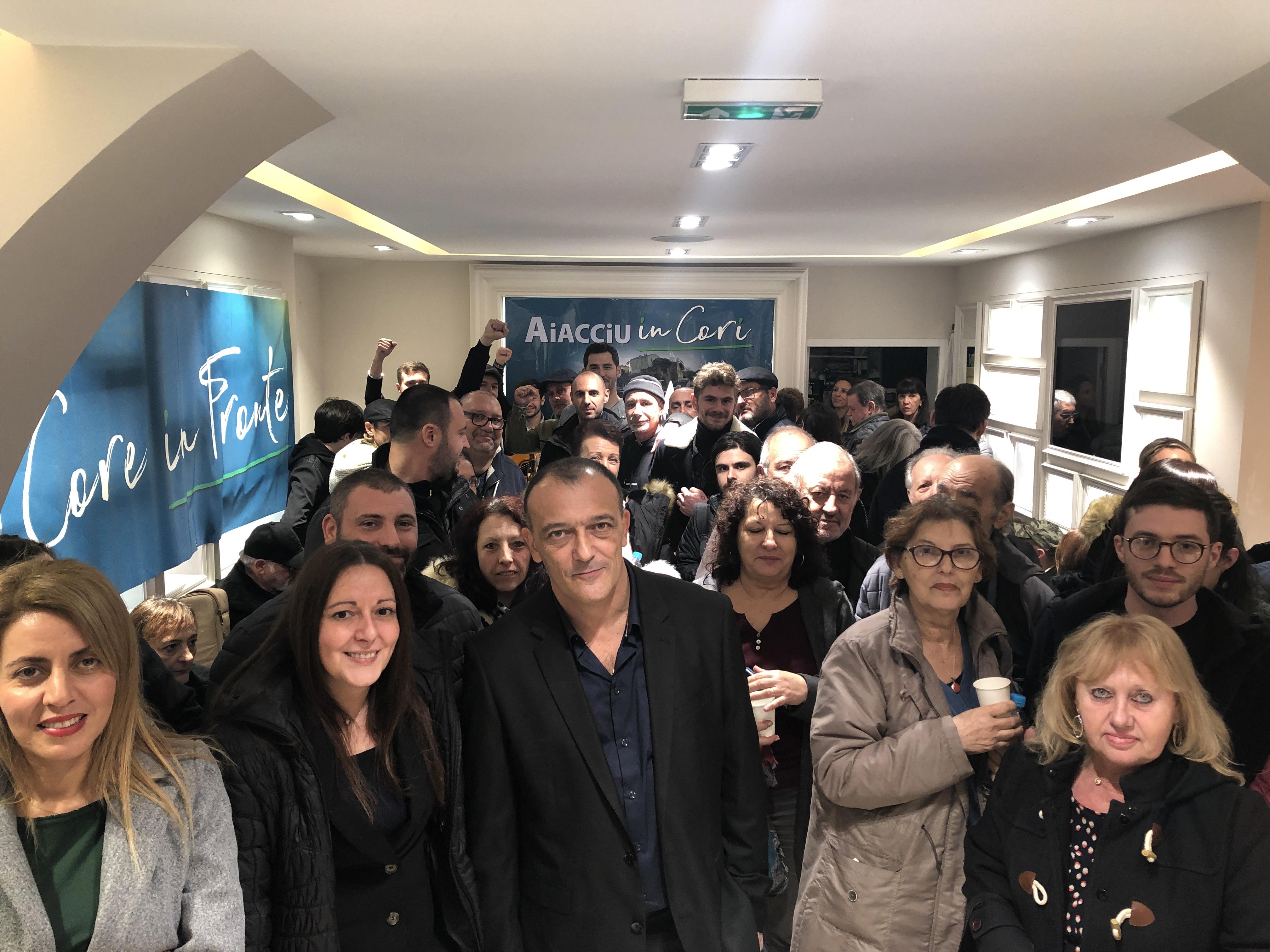 VIDEO - Municipales : Aiacciu in Cori a ouvert sa permanence