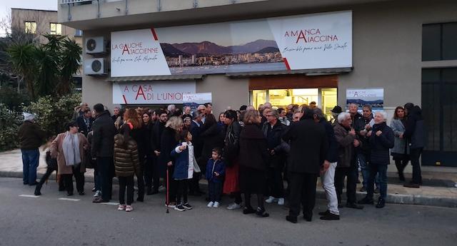 VIDEO - Municipales : A Manca Aiaccina inaugure sa permanence