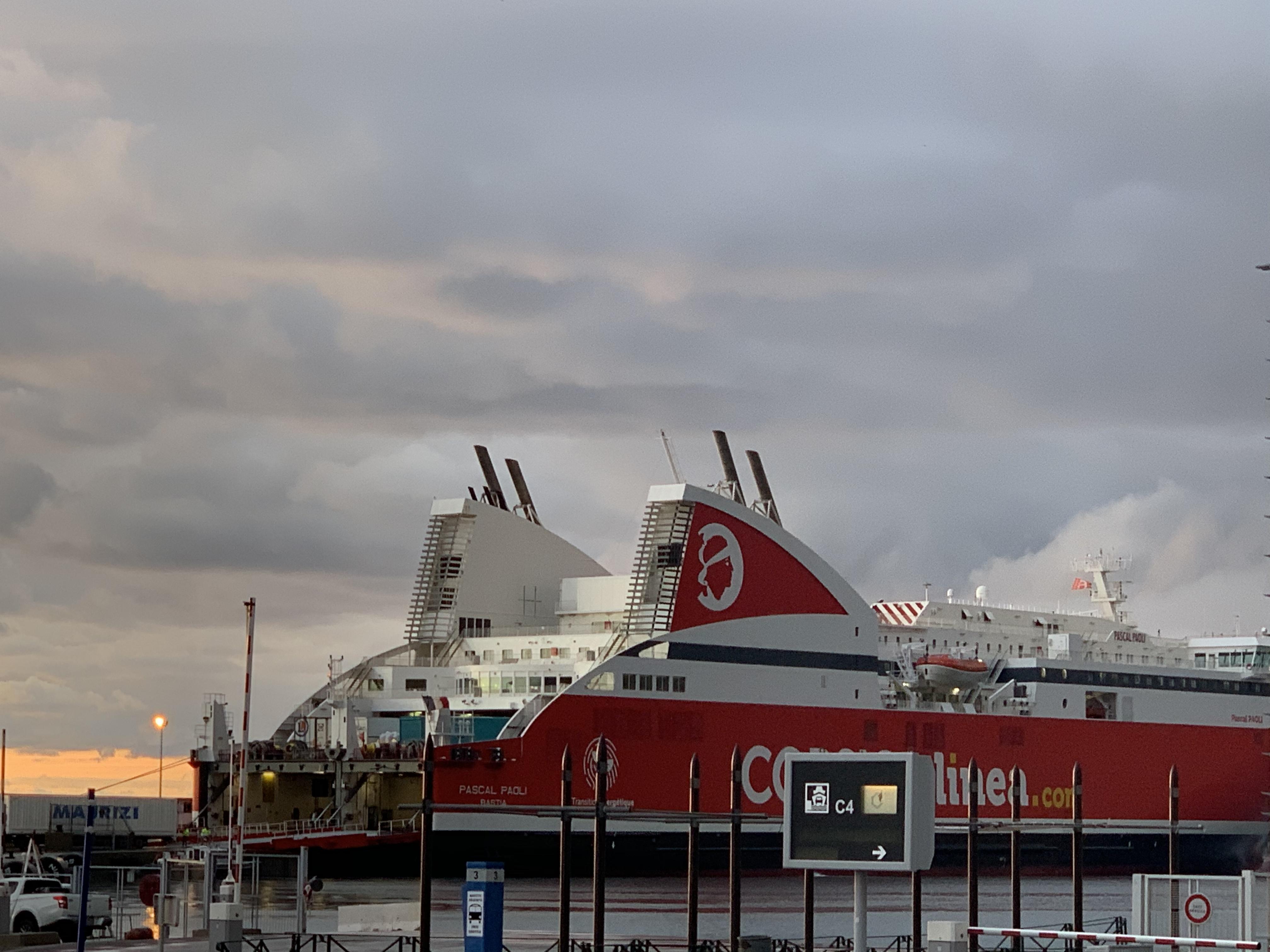 VIDEO - Grève maritime : Le Pascal-Paoli est arrivé à bon port à Bastia