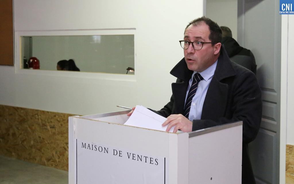 Jean-Dominique Grossetti, commissaire-priseur mandaté par le Tribunal de Commerce d'Ajaccio  - Photo Michel Luccioni