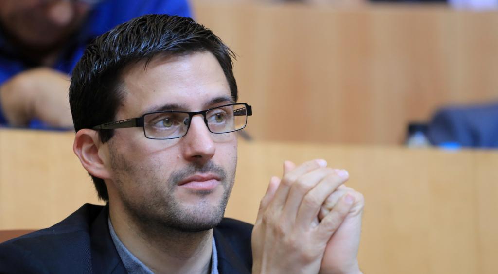 Petru Anto Tomasi, président du groupe Corsica Libera à l'Assemblée de Corse. Photo Michel Luccioni.