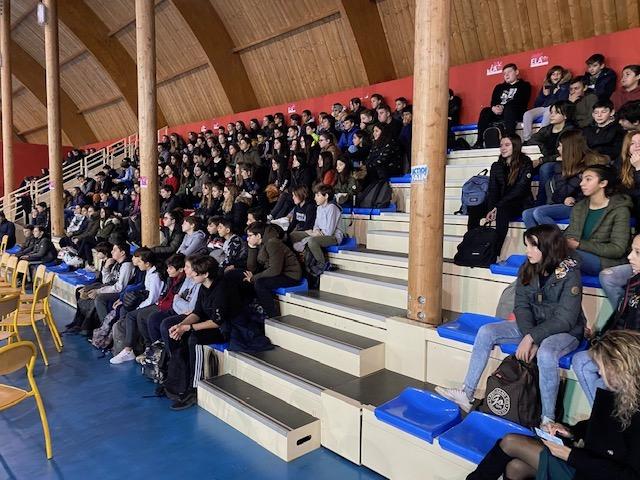 Jean François Bernardini cultive la non-violence auprès des élèves du collège de Biguglia