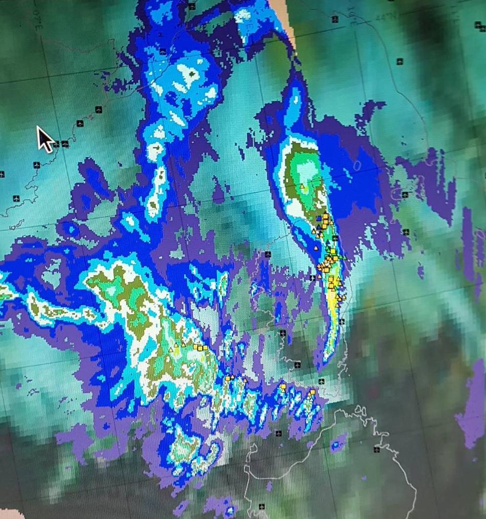 Violents orages sur la Haute-Corse : 14 ouvriers secourus à Poggio-di-Nazza