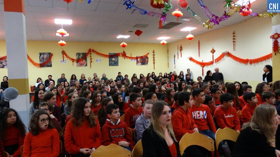 农历新年 : le collège Simon-Vinciguerra a célébré le Nouvel an chinois