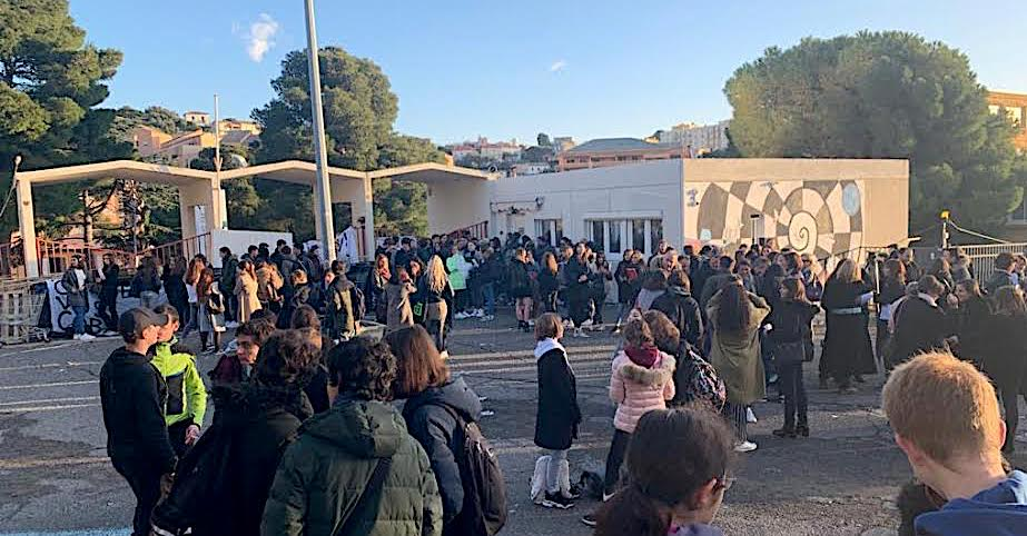 Réforme du bac : le lycée Giocante bloqué à Bastia