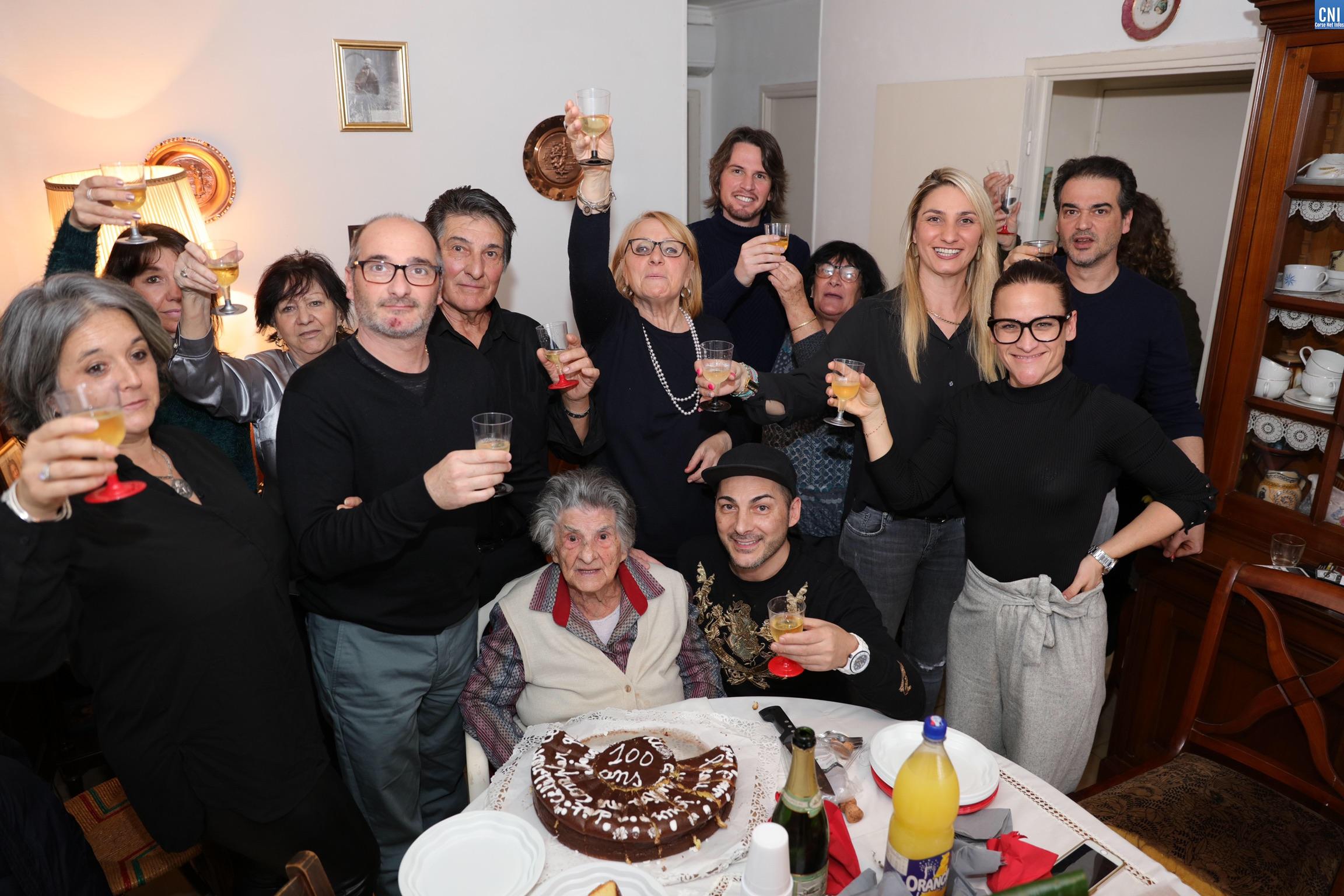 Nunzia Carlotti, la doyenne d'Aregnu fête ses 100 printemps