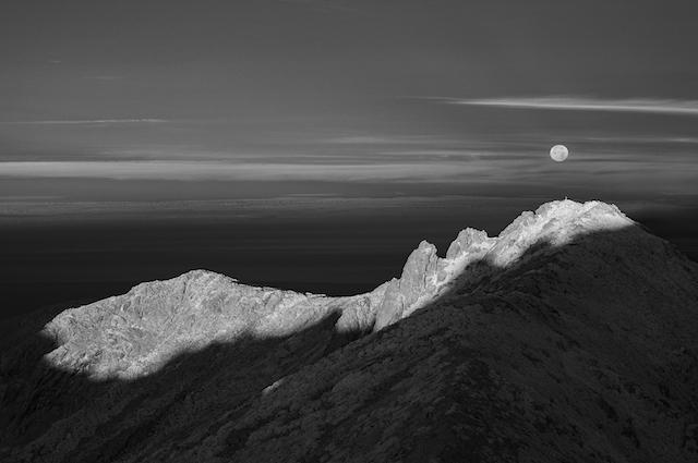 La photo du jour : le sommet du Capu a Cuccula depuis la Punta di e Cricche