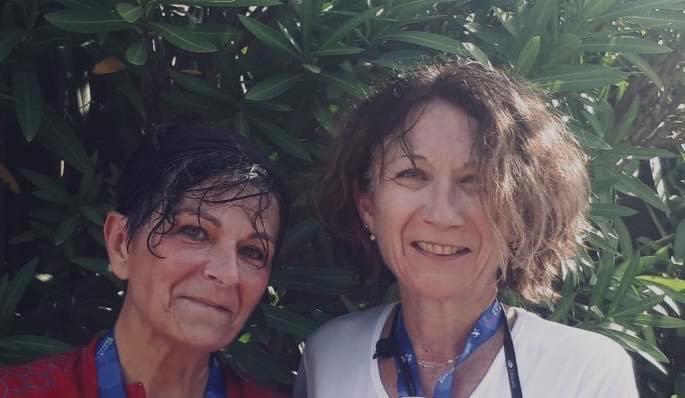 Sylvie et Nathalie à l'assaut du Corsica Raid Aventure Femina