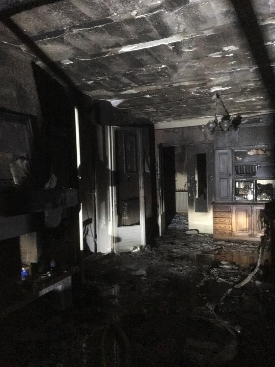 Incendie dans une villa à la sortie de Calvi: deux personnes incommodées