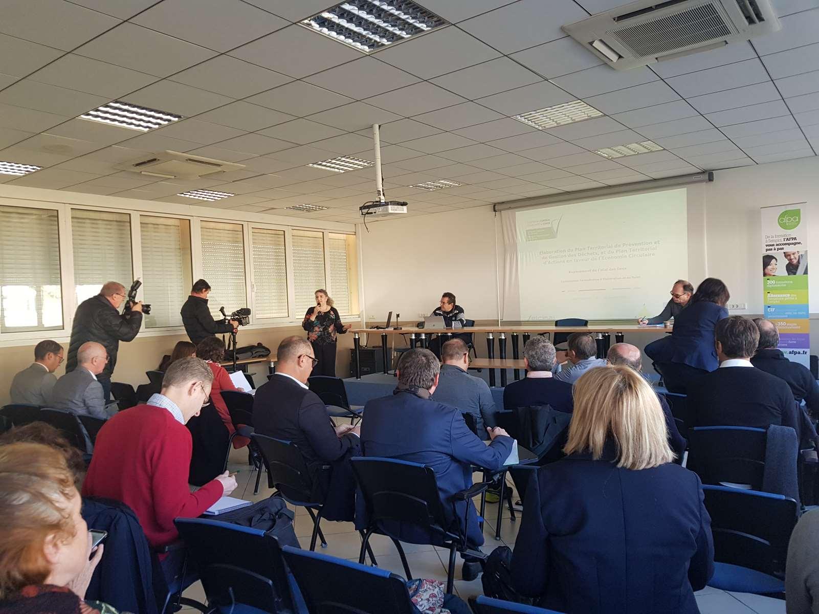 Plan territorial de prévention et de gestion des déchets : tendre vers le renforcement de la valorisation locale