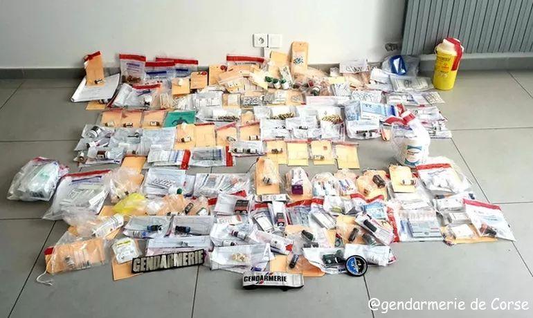 Ajaccio : Plusieurs personnes interpellées et mises en examen pour trafic de produits dopants