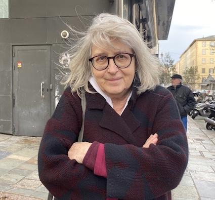 Marie-Joséphine, 77 ans, ancienne psychologue, habitante du Quartier Palais de Justice.