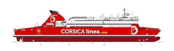 "Corsica Linea inaugure son nouveau navire, ""A Nepita"""