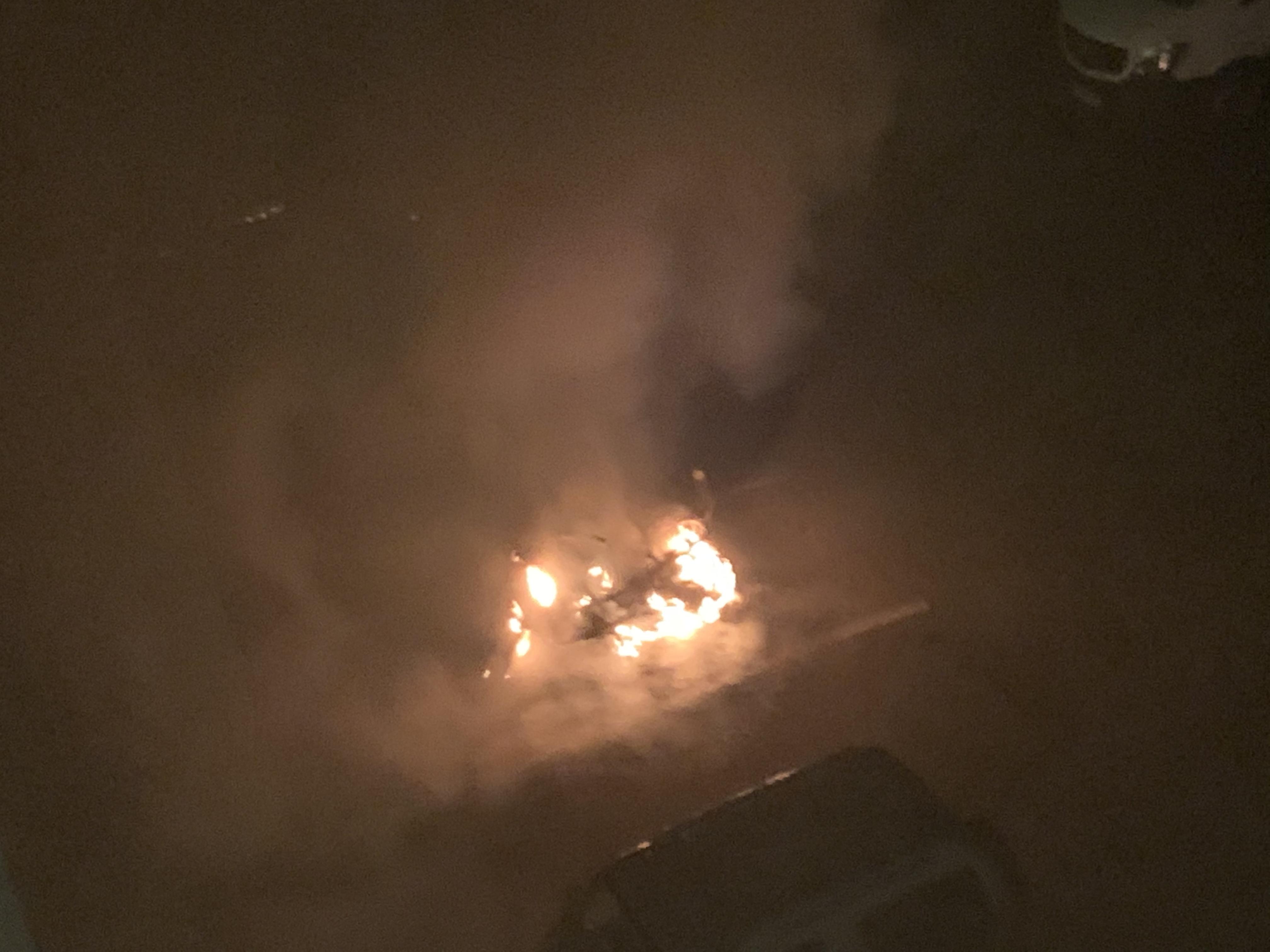 Grand Bastia : deux véhicules incendiés et plusieurs feux de poubelles dans la nuit