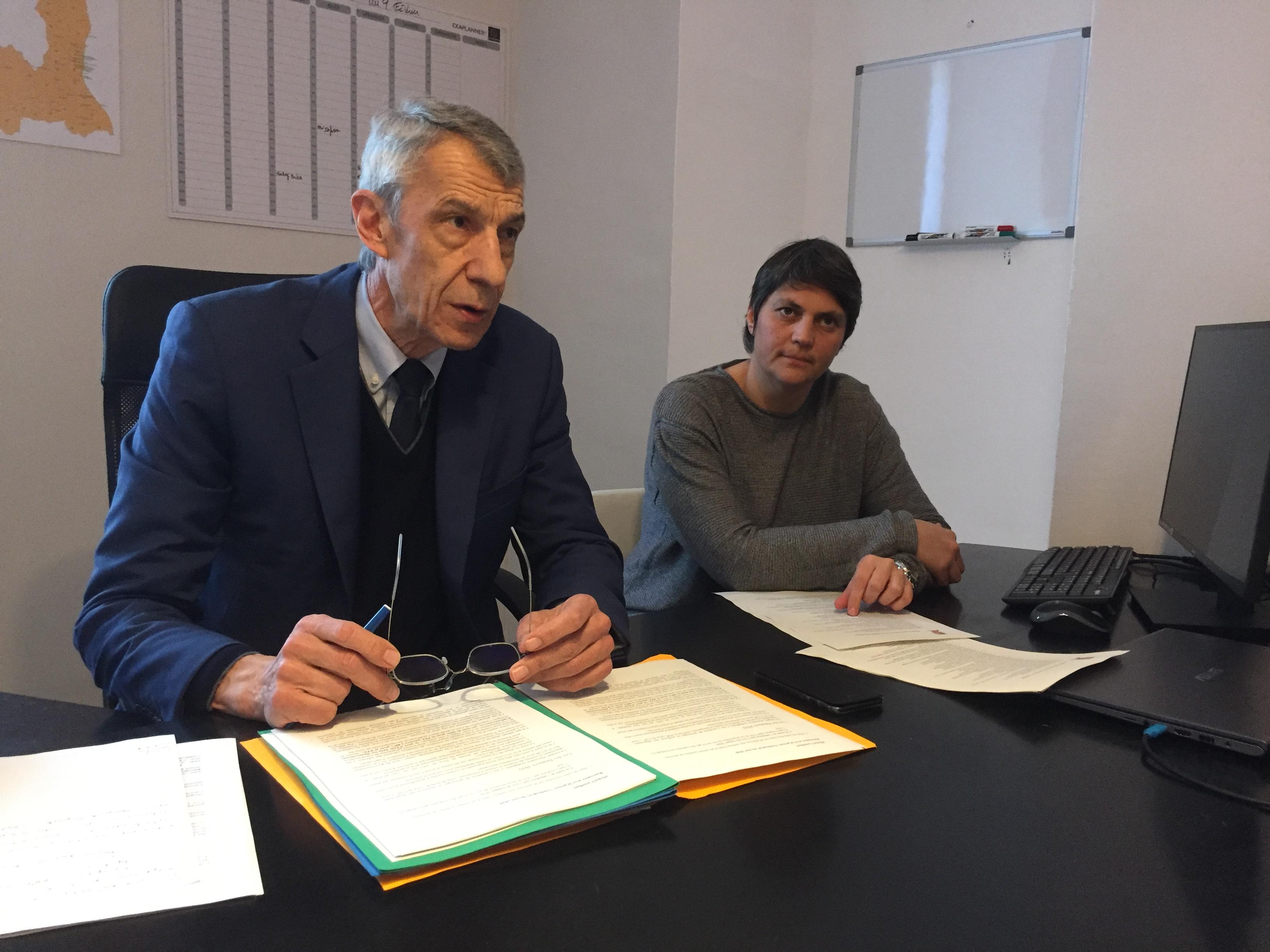 Michel Castellani avec à ses cotés sa suppléante, Juliette Ponzevera, a présenté son bilan 2019 et l'avancée des autres dossiers dont celui de la sacralisation du 5 mai