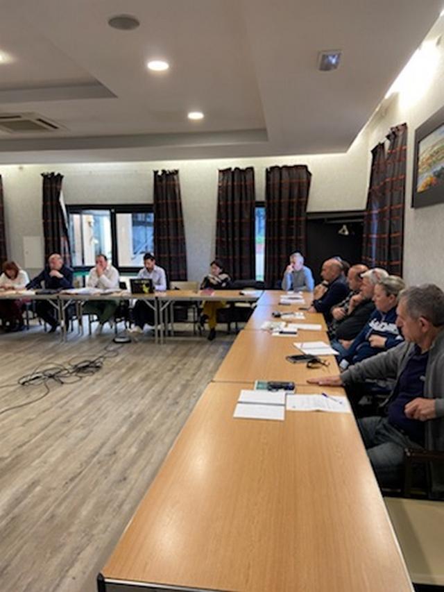 Bernard Giudicelli à Bastia pour la réunion du Comité Directeur de la Ligue Corse de Tennis