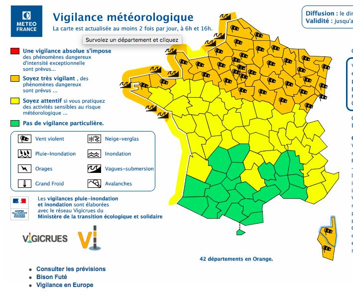 Tempête Ciara : la vigilance orange aux vents violents s'étend à la Corse