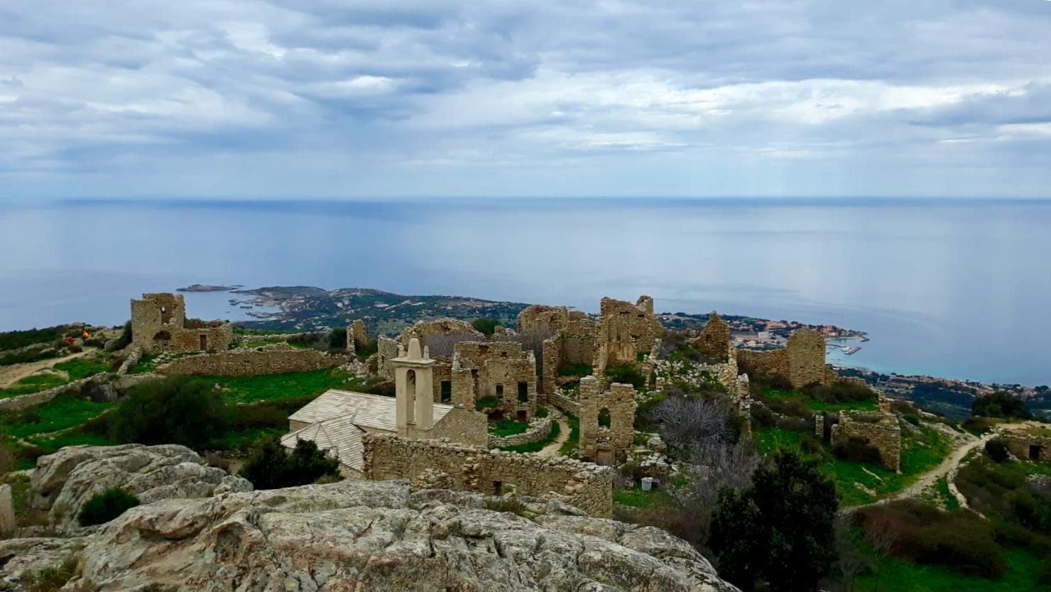 La photo du jour : A Punta di Spanu vue d'Occi