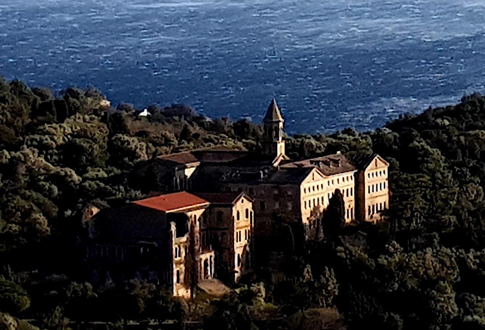 La photo du jour : le monastère d'Erbalonga