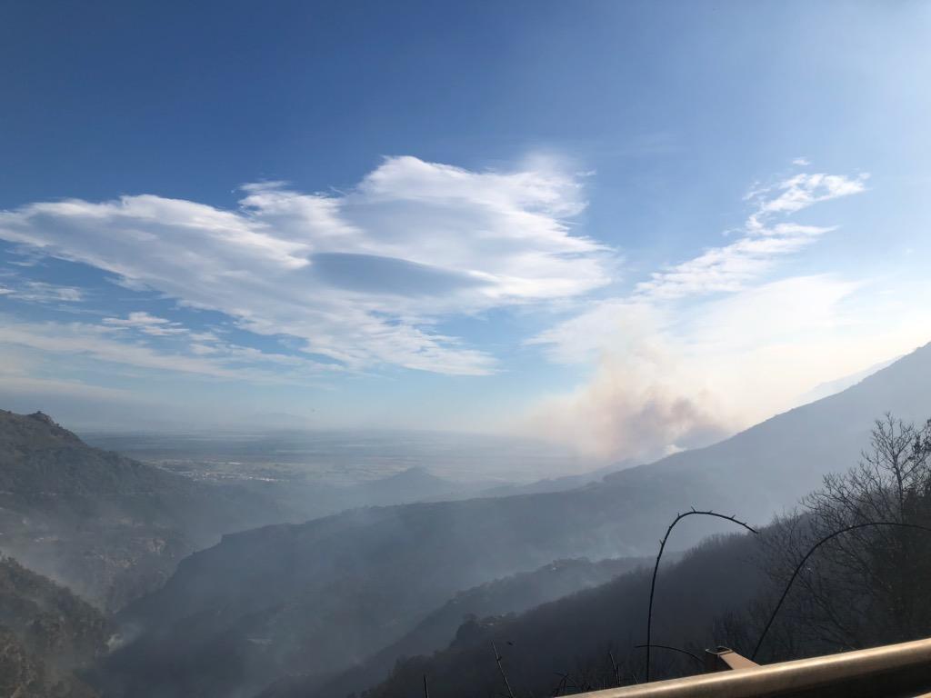 Vent Violent : le feu de Quenza-Solaro est reparti et pourrait menacer des habitations