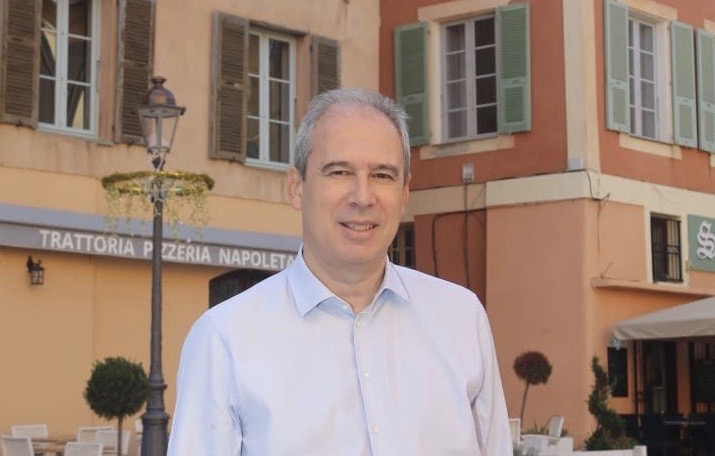 """Jean Zuccarelli, chef de file de la liste  """"Choisir Bastia""""."""