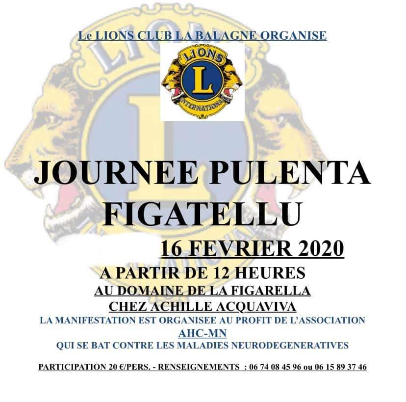 Journée Pulenta-Figatellu le 16 février au Domaine de la Figarella à Calenzana