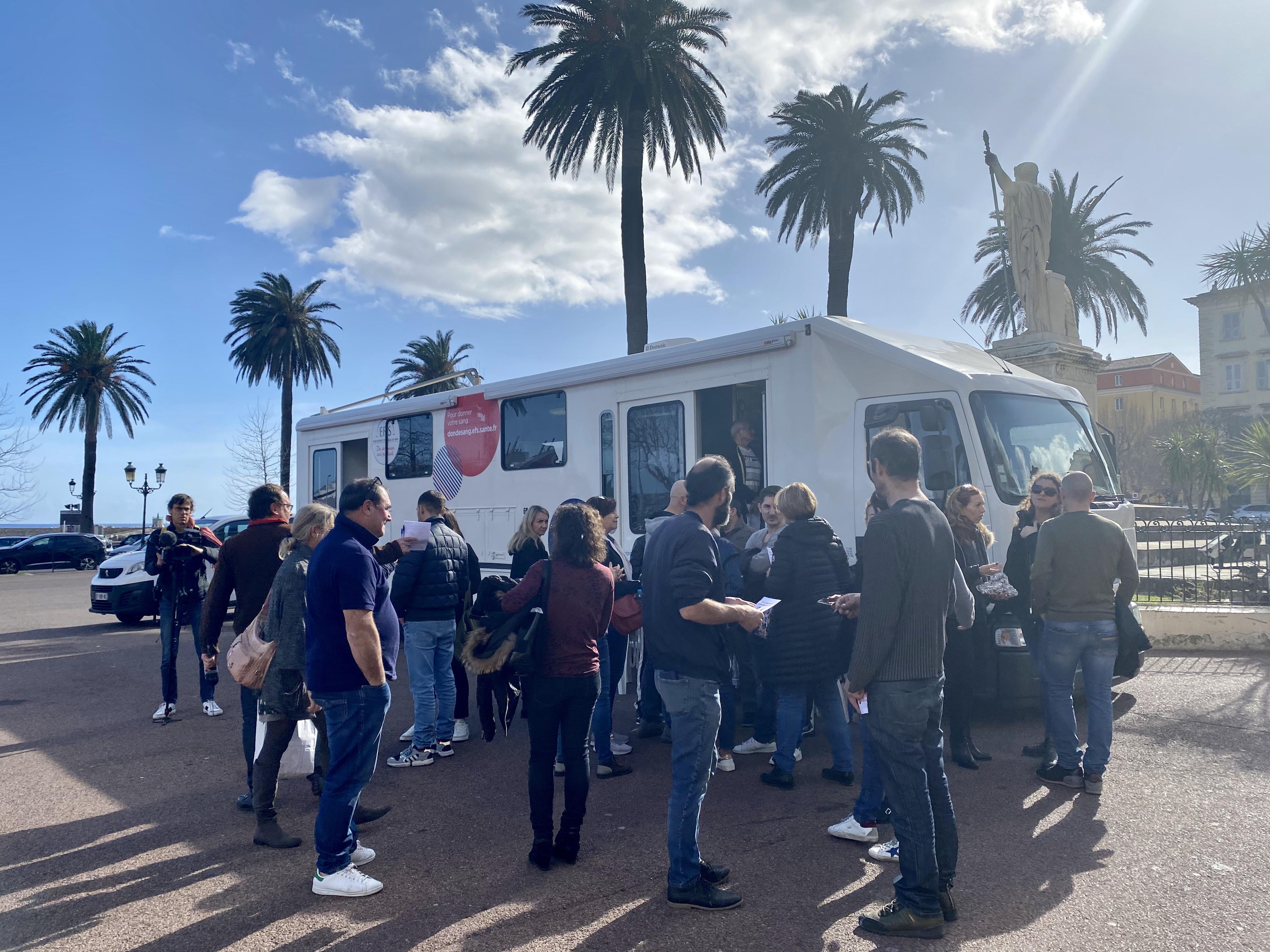 Bastia : nouveau rassemblement de protestation du collectif des infirmiers libéraux