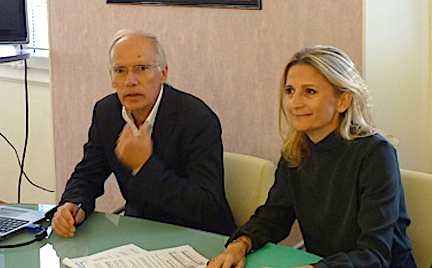 Daniel Charavin et Marie-Antoinette Maupertuis
