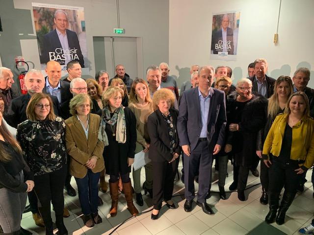 """Municipales. Jean Zuccarelli présente sa liste """"Choisir Bastia"""""""