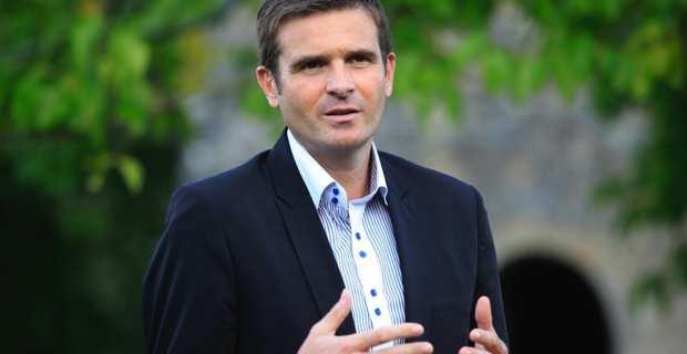 Jean-Martin Mondoloni, président du groupe Per L'Avvene à l'Assemblée de Corse, candidat de droite et LR à l'élection municipale de Bastia.