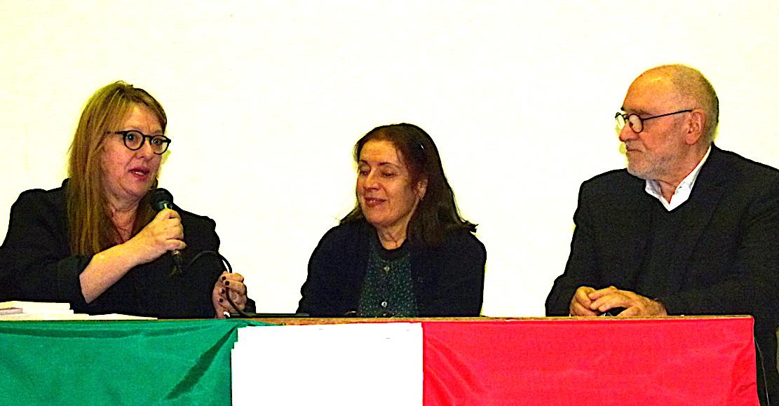 Marie-France Bereni-Canazzi, Milena Agus et Oreste Sacchelli