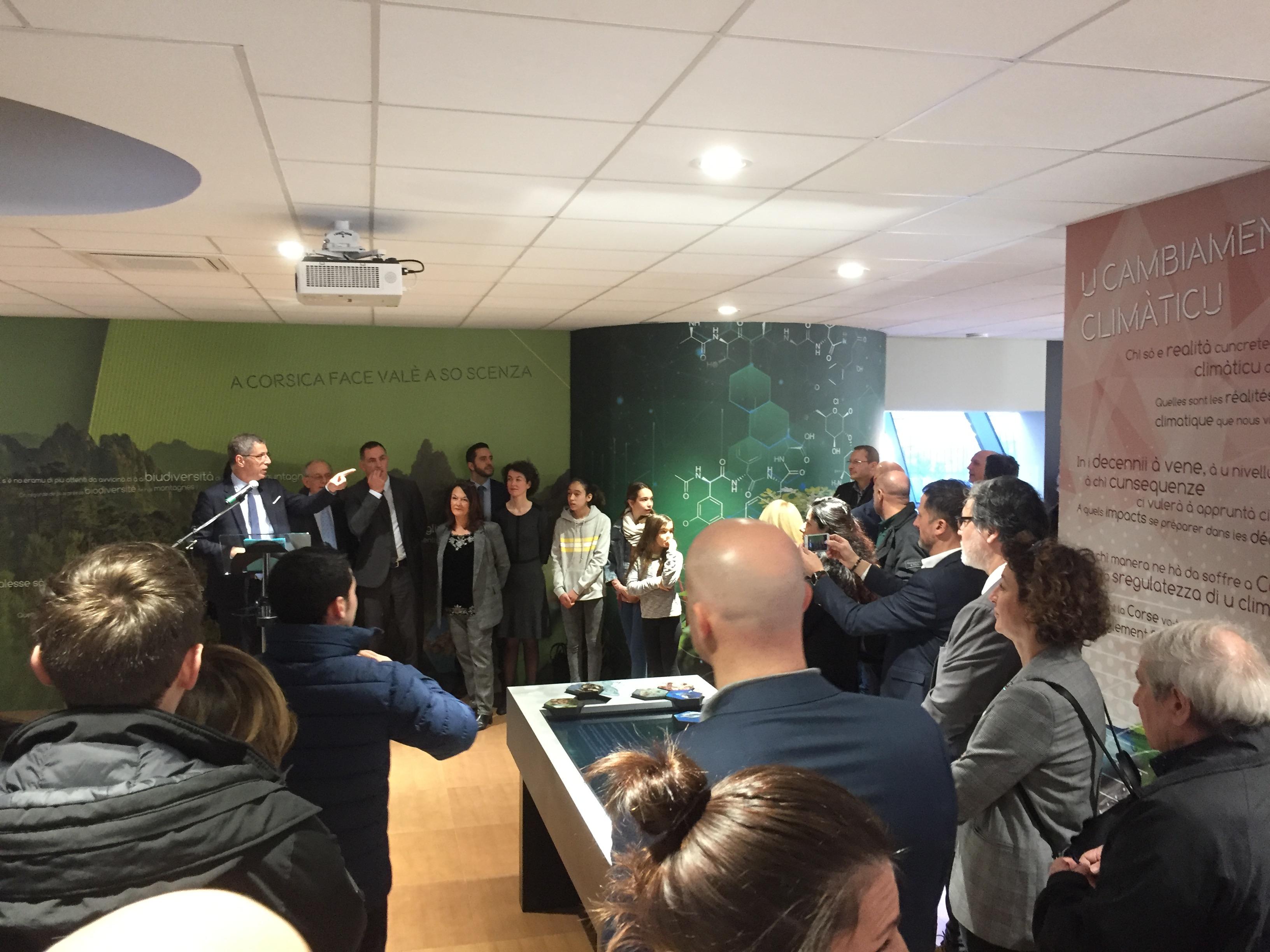 Une nouvelle maison des sciences, A Casa di e Scenze, a ouvert ses portes à Bastia