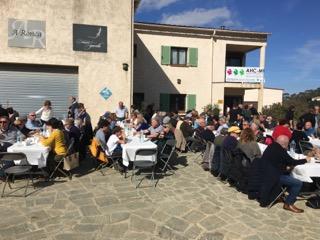200 personnes se mobilisent à Calenzana pour l'association Huntington Corse