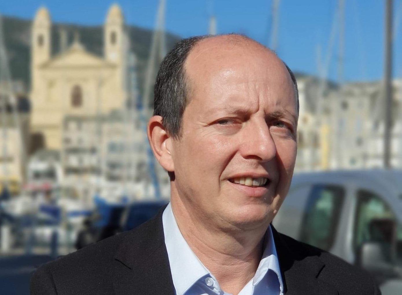 Paul-Félix Benedetti, leader de Core in Fronte, et candidat aux élections municipales à Bastia avec la liste Bastia In Core.