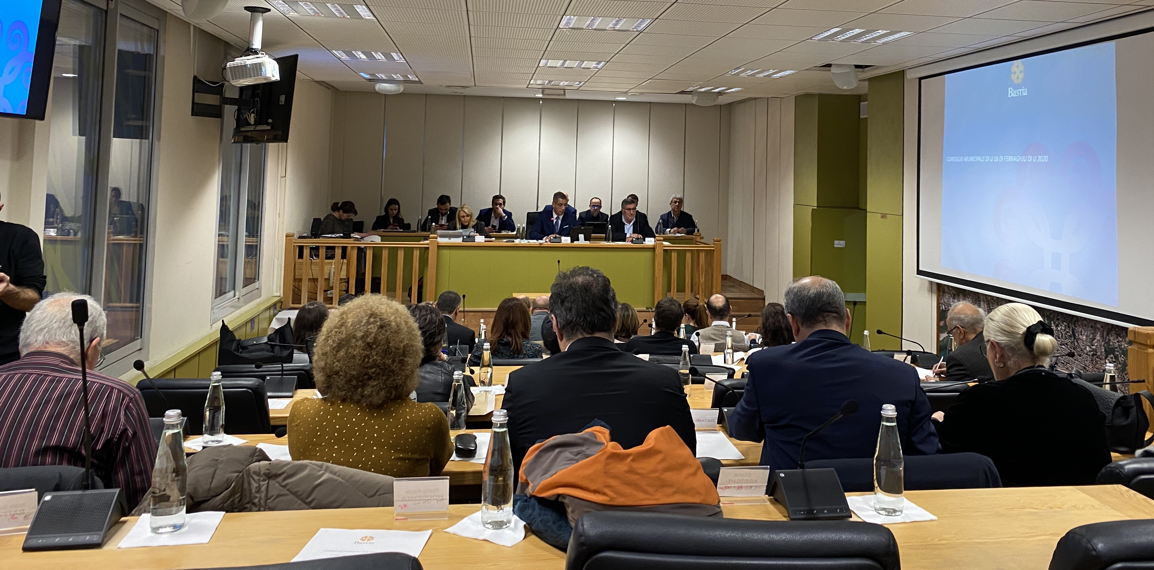 Conseil municipal de Bastia : la dernière séance