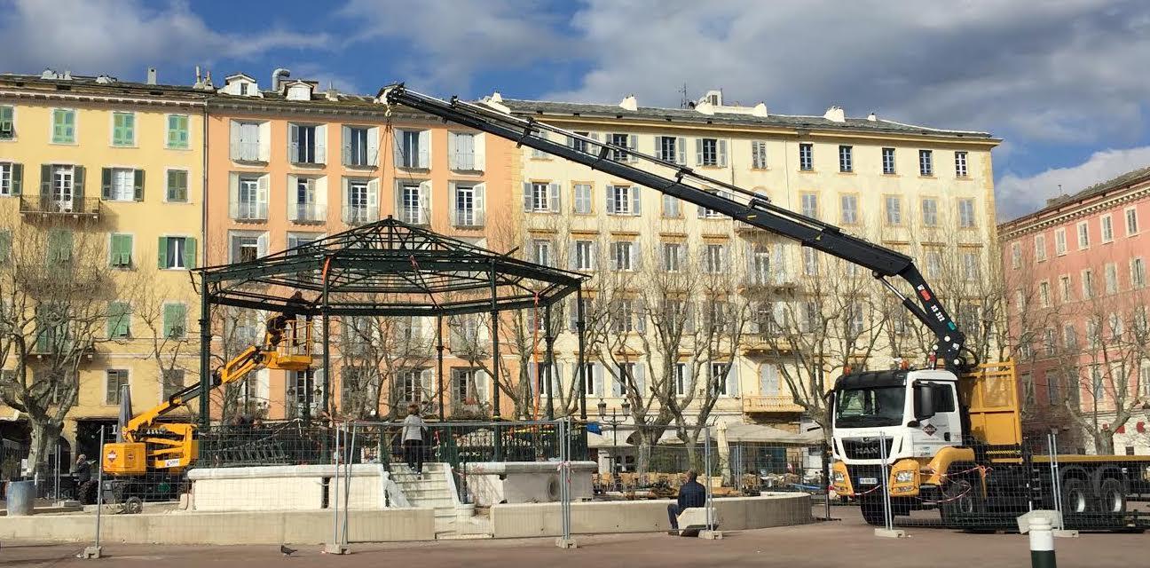 Bastia : la seconde jeunesse du Kiosque à musique