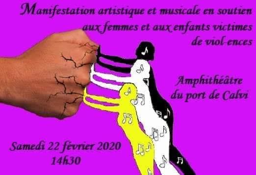 Calvi : un rassemblement artistique contre la violence faites aux femmes et aux enfants