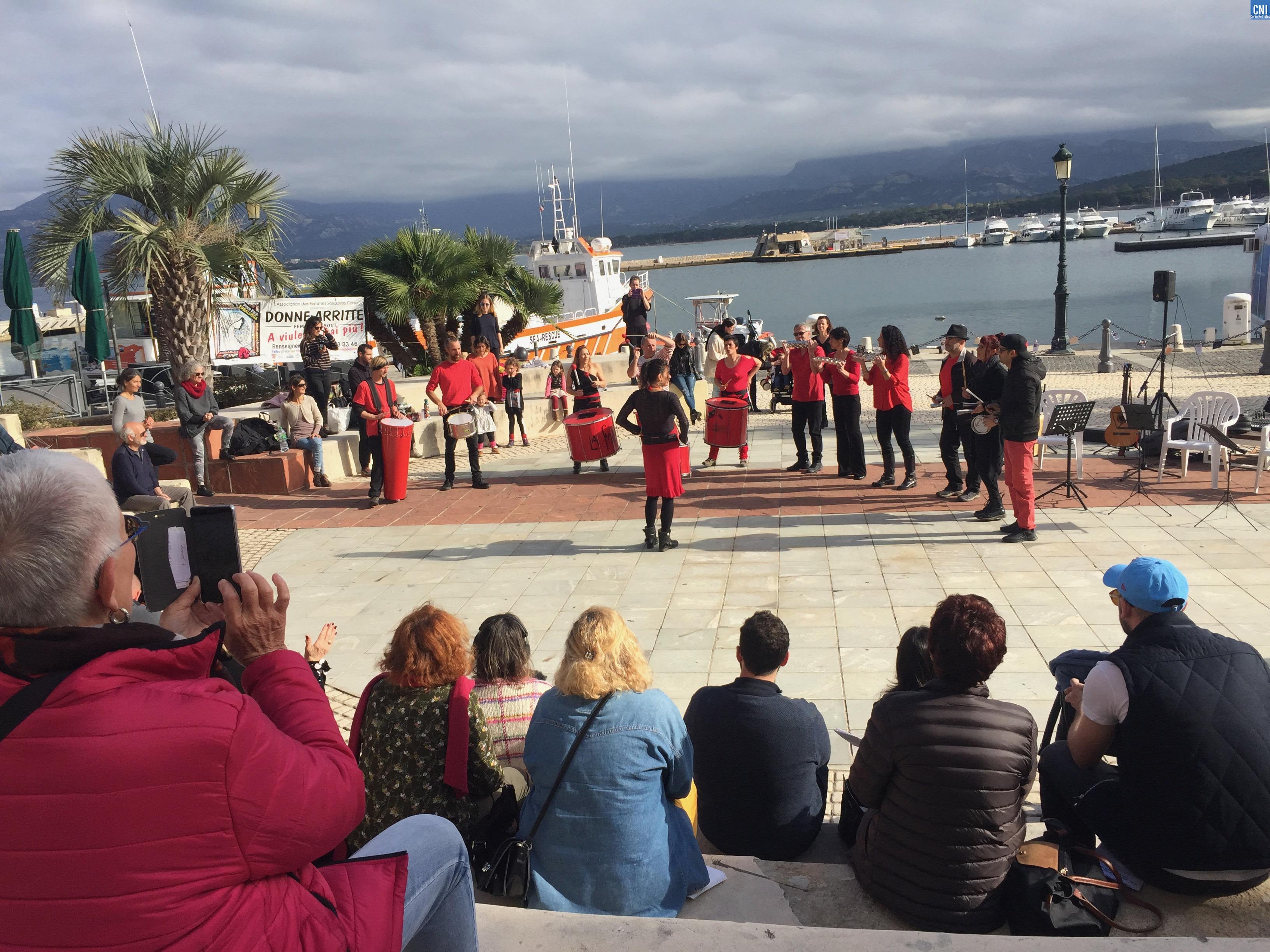 Calvi : l'art pour dénoncer les violences faites aux femmes et aux enfants