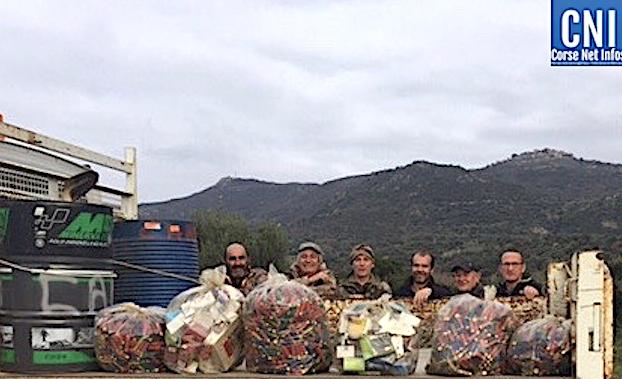 Les chasseurs d'Aregnu se mobilisent pour l'Environnement