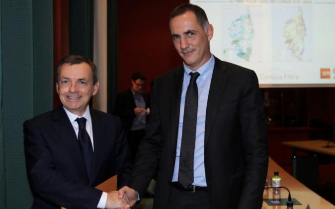 Alain Weill et Gilles Simeoni